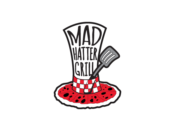 Mad Hatter Grill Logo