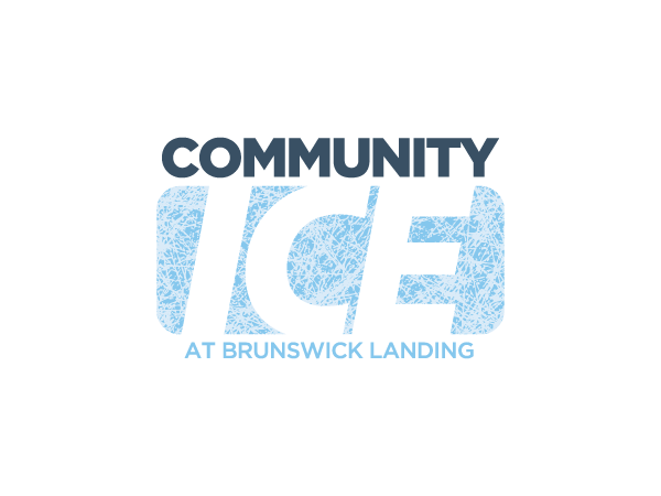 Community Ice at Brunswick Landing Logo